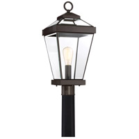 Quoizel RAV9010WT Ravine 1 Light 23 inch Western Bronze Outdoor Post Lantern