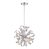 Quoizel RBN1512MN Ribbons 3 Light 12 inch Millenia Mini Pendant Ceiling Light