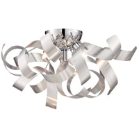 Quoizel Lighting Ribbons 4 Light Flush Mount in Millenia RBN1616MN