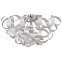 Ribbons 5 Light 22 inch Millenia Flush Mount Ceiling Light