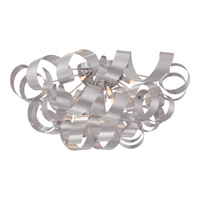 Quoizel Ribbons 6 Light Flush Mount in Millenia RBN1628MN