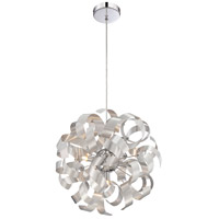 Quoizel Lighting Ribbons 5 Light Pendant in Millenia RBN2817MN
