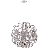 Ribbons 12 Light 23 inch Polished Chrome Foyer Light Ceiling Light