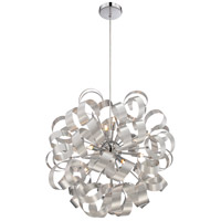 Quoizel RBN2823MN Ribbons 12 Light 23 inch Millenia Pendant Ceiling Light
