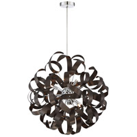 Quoizel RBN2823WT Ribbons 12 Light 23 inch Western Bronze Foyer Piece Ceiling Light