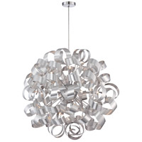 Quoizel RBN2831MN Ribbons 12 Light 31 inch Millenia Pendant Ceiling Light