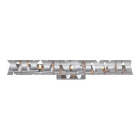 Ribbons 7 Light 30 inch Millenia Bath Light Wall Light in Frosted Halogen G9
