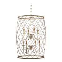 Quoizel Dury 8 Light Foyer Piece in Century Silver Leaf RDY5208CS