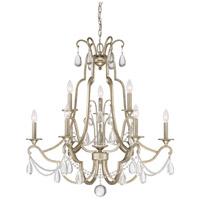 Quoizel REG5009VG Regent 9 Light 32 inch Vintage Gold Chandelier Ceiling Light