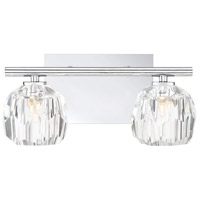Quoizel RGA8602C Regalia 2 Light 13 inch Polished Chrome Vanity Light Wall Light