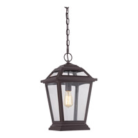 Quoizel Ridge 1 Light Outdoor Hanging Lantern in Western Bronze RGE1911WTFL