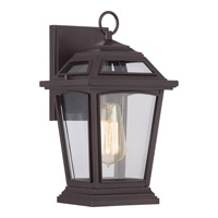 Ridge 1 Light 13 inch Western Bronze Outdoor Wall Lantern