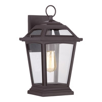 Ridge 1 Light 16 inch Western Bronze Outdoor Wall Lantern