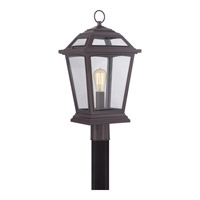 Quoizel Ridge 1 Light Outdoor Post Lantern in Western Bronze RGE9011WTFL