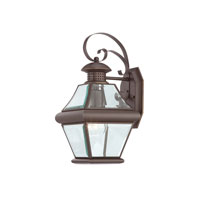 Quoizel Lighting Rutledge 1 Light Outdoor Wall Lantern in Medici Bronze RJ8407Z