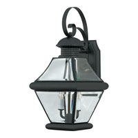 Quoizel RJ8409K Rutledge 2 Light 19 inch Mystic Black Outdoor Wall Lantern alternative photo thumbnail