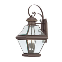 Quoizel Lighting Rutledge 2 Light Outdoor Wall Lantern in Medici Bronze RJ8409Z