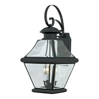 Quoizel RJ8411K Rutledge 3 Light 24 inch Mystic Black Outdoor Wall Lantern alternative photo thumbnail