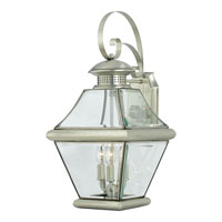 Quoizel Lighting Rutledge 3 Light Outdoor Wall Lantern in Pewter RJ8411P photo thumbnail