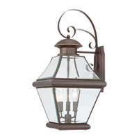 Quoizel Lighting Rutledge 3 Light Outdoor Wall Lantern in Medici Bronze RJ8411Z