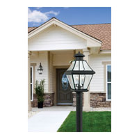 Quoizel Lighting Rutledge 3 Light Outdoor Post Lantern in Mystic Black RJ9011K alternative photo thumbnail
