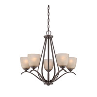 Quoizel Radcliff 5 Light Chandelier in Western Bronze RL5005WT