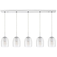 Quoizel RLM541C Realm 5 Light 41 inch Polished Chrome Island Chandelier Ceiling Light
