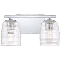 Quoizel RLM8602C Realm 2 Light 14 inch Polished Chrome Bath Light Wall Light Medium