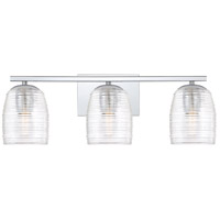 Quoizel RLM8603C Realm 3 Light 24 inch Polished Chrome Bath Light Wall Light, Large
