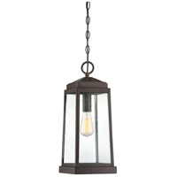 Ravenel 1 Light 8 inch Western Bronze Outdoor Hanging Lantern