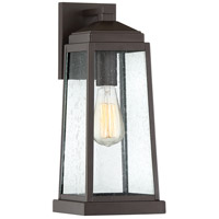 Ravenel 1 Light 16 inch Western Bronze Outdoor Wall Lantern
