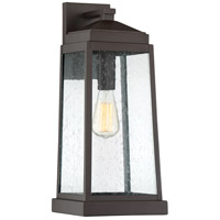 Ravenel 1 Light 19 inch Western Bronze Outdoor Wall Lantern
