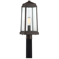Ravenel 1 Light 20 inch Western Bronze Outdoor Post Lantern