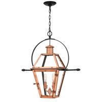 Quoizel RO1911AC Rue De Royal 2 Light 21 inch Aged Copper Outdoor Hanging Lantern
