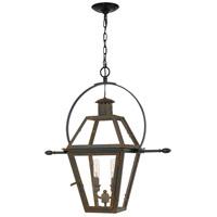 Quoizel RO1911IZ Rue De Royal 2 Light 21 inch Industrial Bronze Outdoor Hanging Lantern