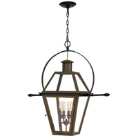 Quoizel RO1914IZ Rue De Royal 4 Light 28 inch Industrial Bronze Outdoor Hanging Lantern