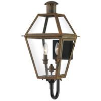 Quoizel RO8311IZ Rue De Royal 2 Light 24 inch Industrial Bronze Outdoor Wall Lantern