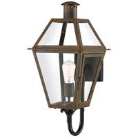 Quoizel RO8410IZ Rue De Royal 1 Light 21 inch Industrial Bronze Outdoor Wall Lantern
