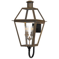Quoizel RO8414IZ Rue De Royal 4 Light 30 inch Industrial Bronze Outdoor Wall Lantern