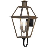Quoizel RO8414IZ Rue De Royal 4 Light 30 inch Industrial Bronze Outdoor Wall Lantern