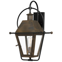 Quoizel RO8418IZ Rue De Royal 1 Light 23 inch Industrial Bronze Outdoor Wall Lantern