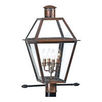 Quoizel RO9014AC Rue De Royal 4 Light 26 inch Aged Copper Outdoor Post Lantern alternative photo thumbnail
