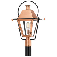 Quoizel RO9018AC Rue De Royal 1 Light 23 inch Aged Copper Outdoor Post Lantern