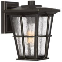 Quoizel RPT8407PN Rockport 1 Light 10 inch Palladian Bronze Outdoor Wall Lantern