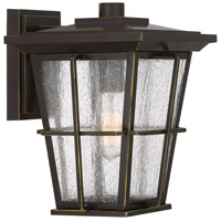 Quoizel RPT8409PN Rockport 1 Light 12 inch Palladian Bronze Outdoor Wall Lantern