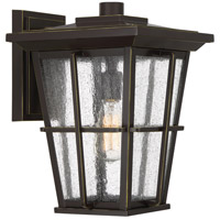 Quoizel RPT8411PN Rockport 1 Light 15 inch Palladian Bronze Outdoor Wall Lantern