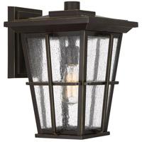 Quoizel RPT8411PN Rockport 1 Light 15 inch Palladian Bronze Outdoor Wall Lantern