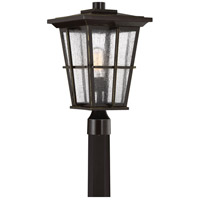 Quoizel RPT9011PN Rockport 1 Light 19 inch Palladian Bronze Outdoor Post Lantern