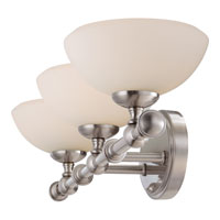 Quoizel Lighting Ryder 3 Light Bath Vanity in Brushed Nickel RR8603BN alternative photo thumbnail