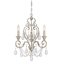 Quoizel RVN5303VG Riverton 3 Light 16 inch Vintage Gold Dinette Chandelier Ceiling Light